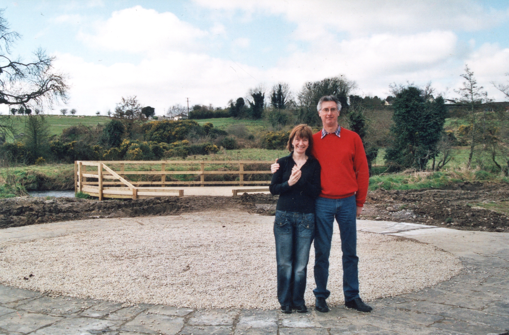 Baltinglass Park Engineer and the Lady who started it all