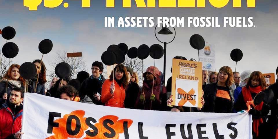 Marching for divestment