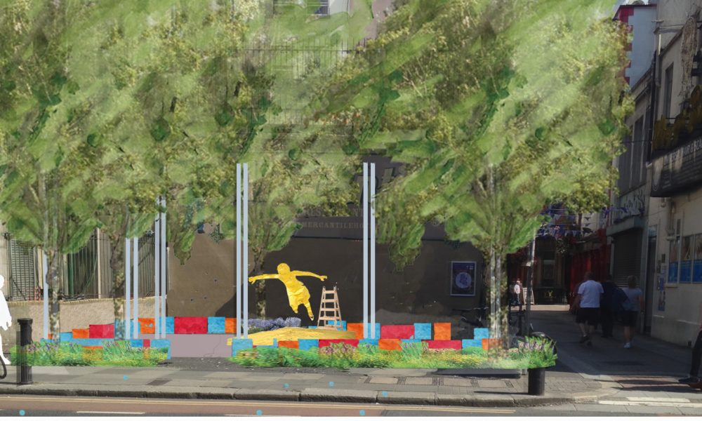 Why Go Bald. Curation as a collaborative process in design of Public Realm. © Roisin Byrne