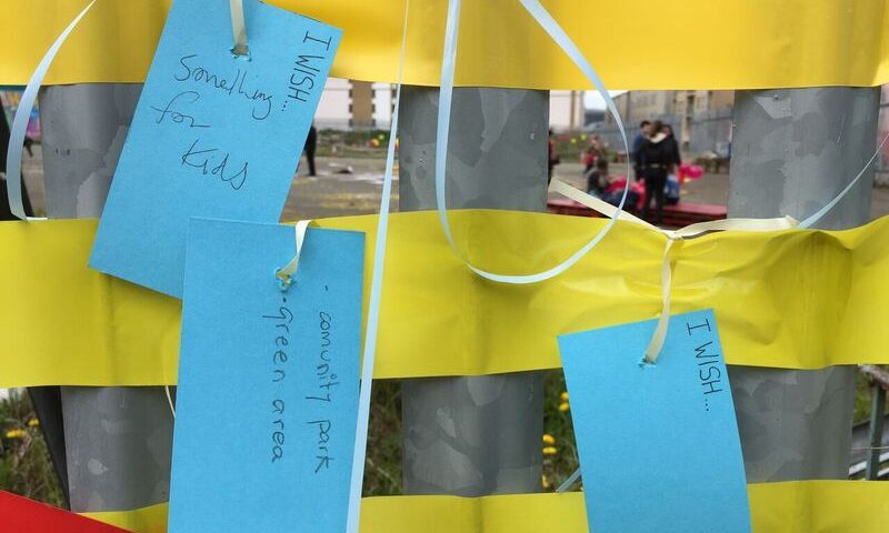 Bridgefoot Street Engagement process I wish Image taken by Sophie von Malzan